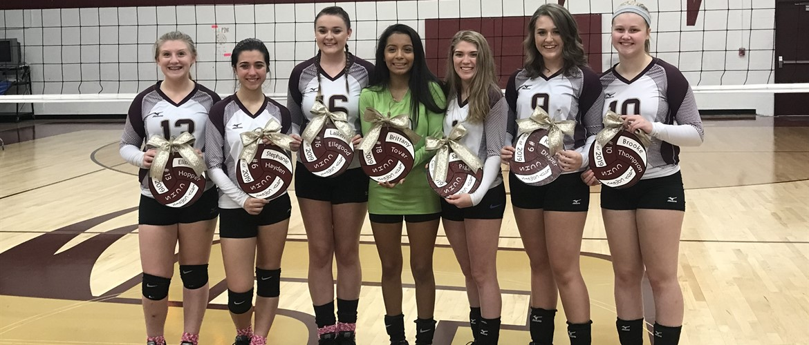 CCHS Volleyball - Senior Night