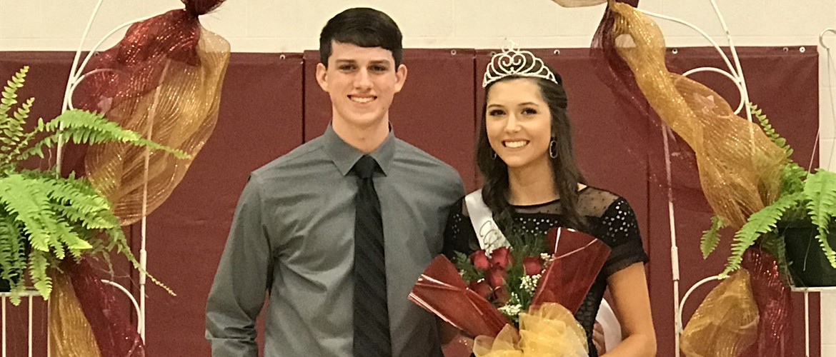 2019 Homecoming - Micah Bice and Mollie Henderson