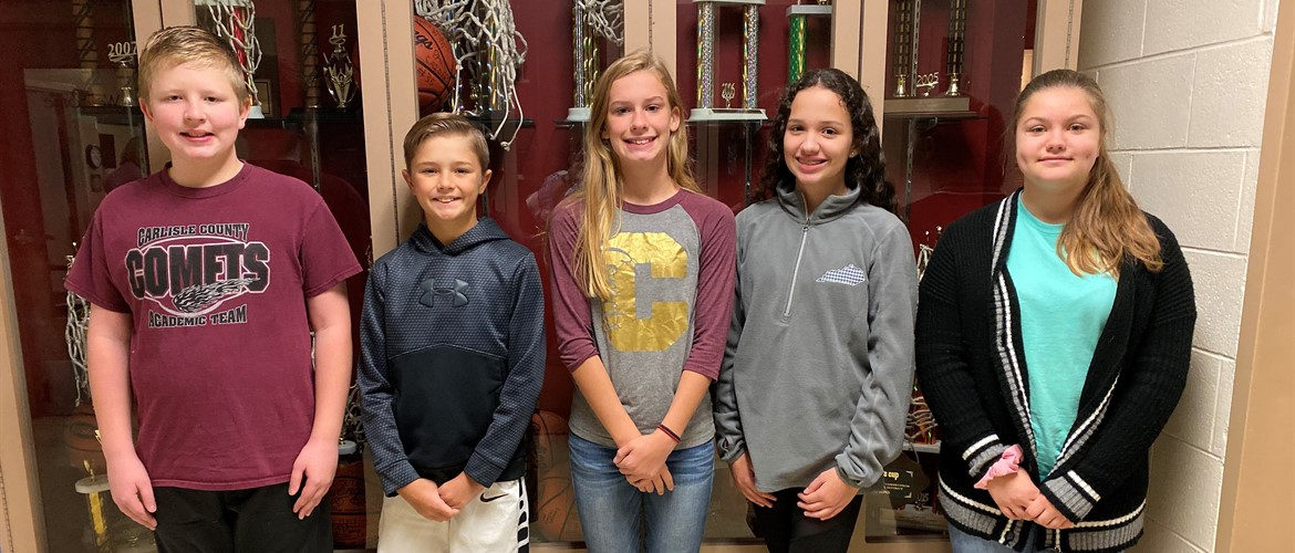Duke TIP Talent Search Winners Congratulations to CCMS 7th Graders Jake Thornsbrough, Jaron Williams, Emma Moore, Olivia Tharp, and Hannah Huntley!