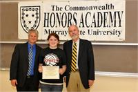 Kaitlyn Handley recognized by Commonwealth Honors Academy