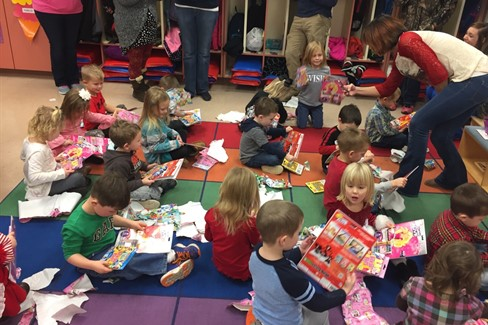 Preschool Christmas Party