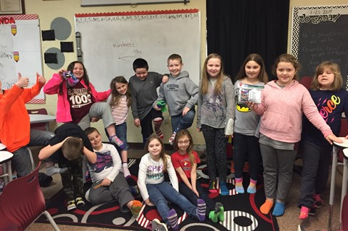 Mrs. Elders Class- Crazy Socks