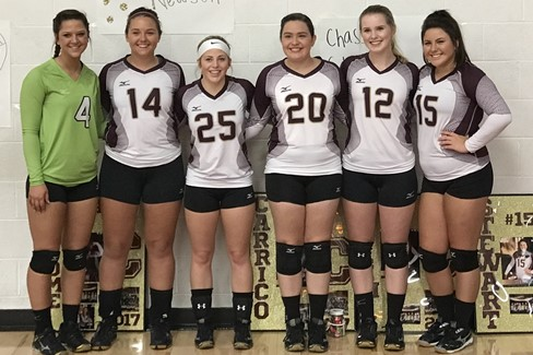 CCHS Volleyball Senior Night