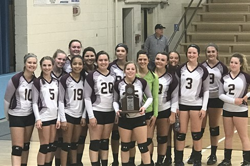 CCHS Volleyball - First District Runners Up