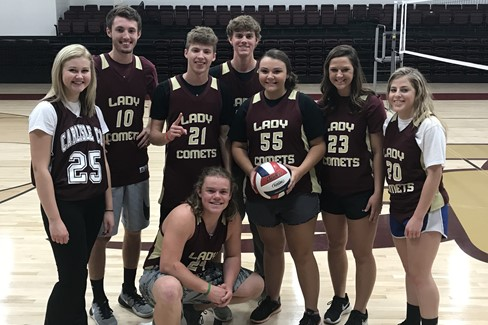 Winners of Student Council Volleyball Tourney to raise money for Juvenile Diabetes Research!
