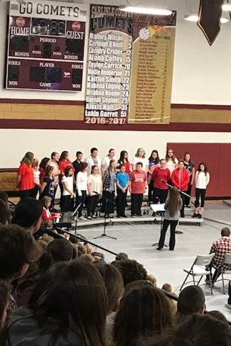 2017 Veteran's Day Program - Choir Performance
