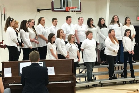 Middle School and High School Choir  Christmas Program - 12/18/17