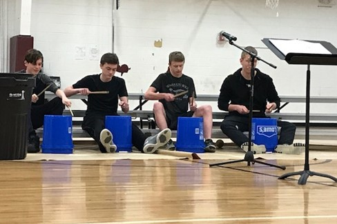 High School Bucket Drummers Christmas Program - 12/18/17