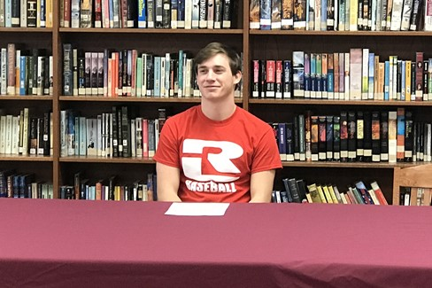 Michael Thomason signs to play baseball with Rend Lake College in Ina, IL.