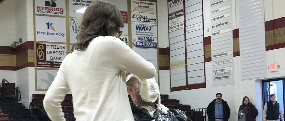 Pie in the Face to Raise money for project Graduation